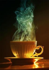 Cheshire Cat in Tea