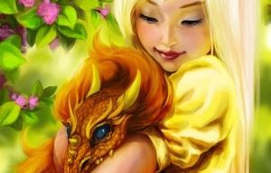 Dragon Girl freeimage