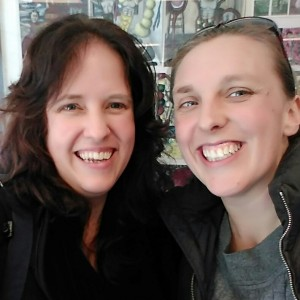 The Christchurch MLs for 2015: Judy Mohr (left) and Amy Paulussen