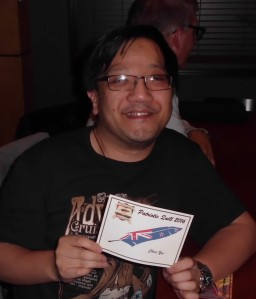 Chris Yee and his well deserved Patriotic Quill