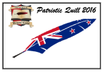Patriotic Quill